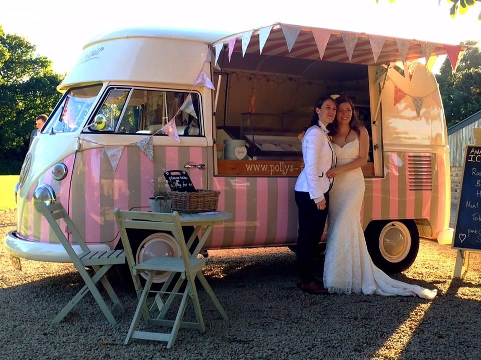 58a9915b76 Vintage Ice Cream Van Hire Wedding Hire Ice Cream Van