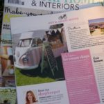 Florence in 'Country Homes & Interiors' mMagazine