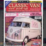 Florence gets the 'Classic Van & Pick Up' Magazine front cover