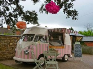 Florence Vintage Ice cream van hire