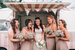 pollys parlour vw ice cream wedding van