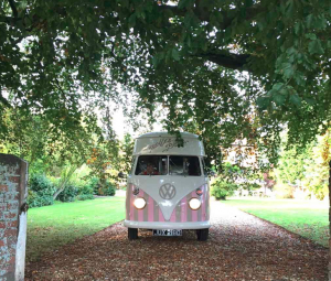 Vintage Ice Cream Van Wedding Hire