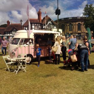 Vintage Ice Cream Van for weddings