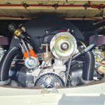 Polly's Parlour Matilda engine bay @ The VW Engine Company